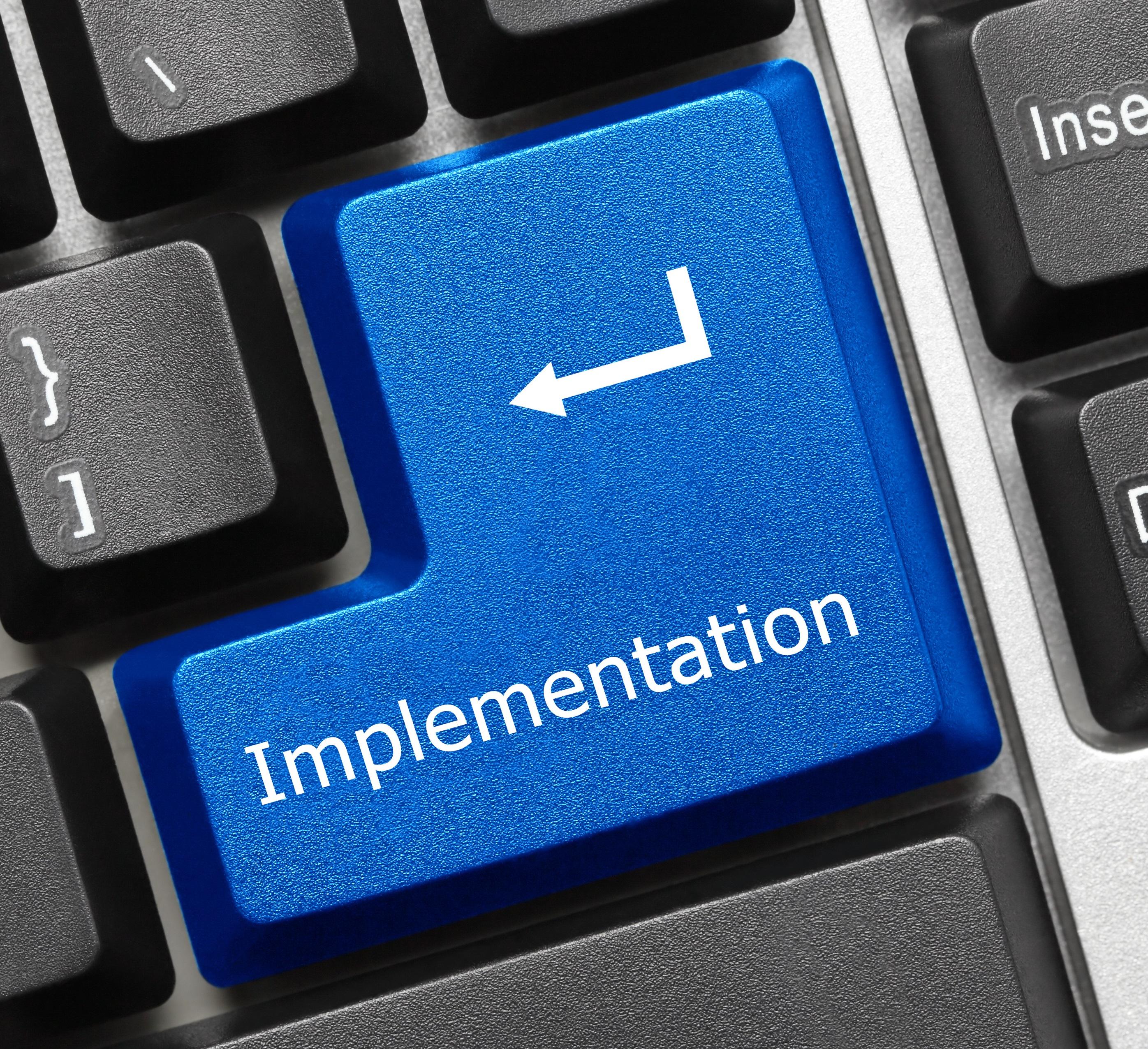 Implementation Button